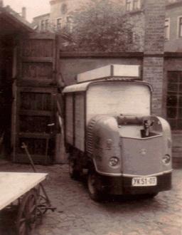 Multicar der Deutsche Post