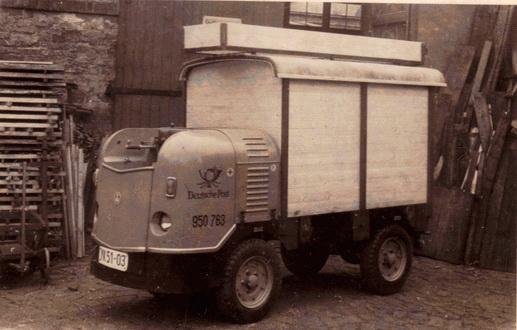 Dieselameise genannte Dieselkarre DK 2004 / DK 4
