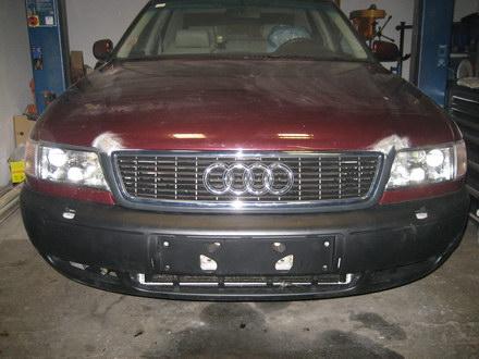 Alu-Motorhaube aluschweißen PKW-Audi